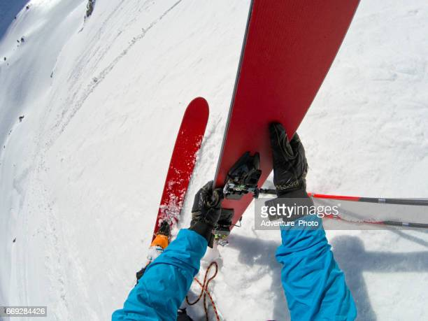 Ski Mountaineering Rappel