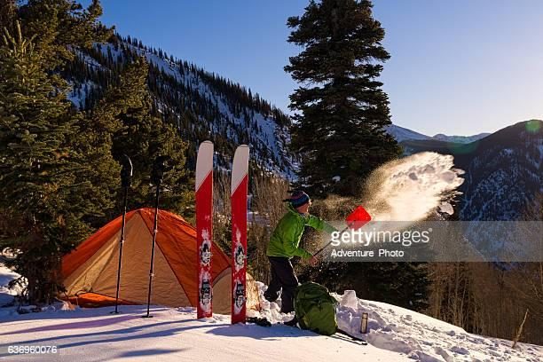 Ski Mountaineering Winter Camping
