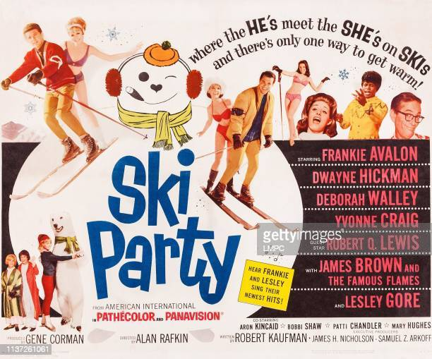 Ski Party poster US poster top from left Frankie Avalon Deborah Walley Yvonne Craig Dwayne Hickman Mary Hughes Lesley Gore James Brown Robert Q Lewis...