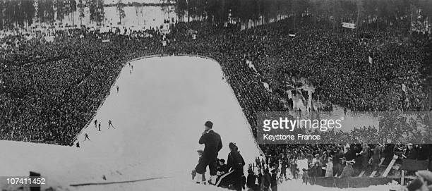 Ski Race In Norway On March 13Th 1939