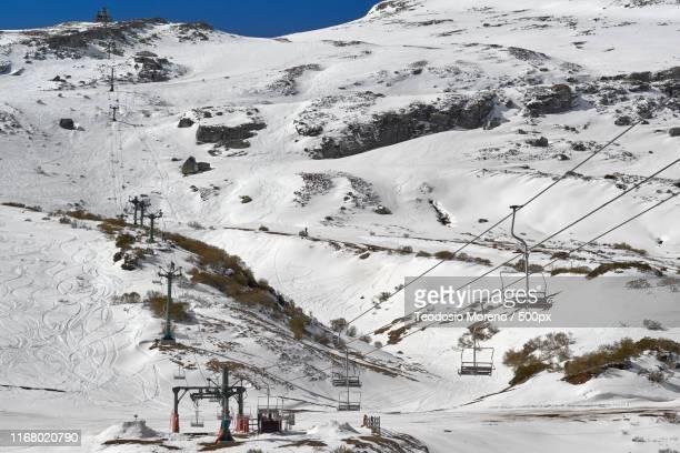 ski resort alto campoo, cantabria, spain - teodosio moreno fotografías e imágenes de stock