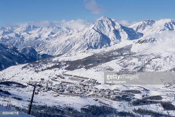 Ski Resort and Village of Sestriere