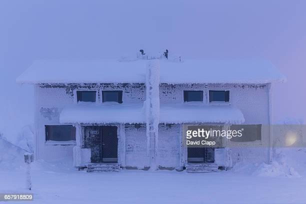 Ski resort cabins in Iso Syote, Finland
