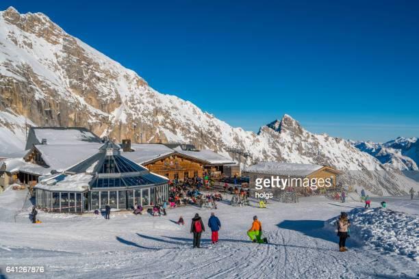 Ski Resort Garmisch-Partenkirchen, Bayern (Bayern) Deutschland