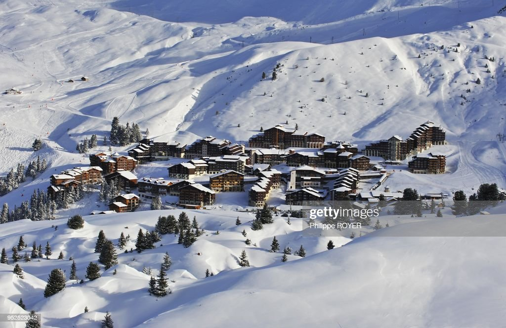 Ski Resort La Plagne, Savoy, France : News Photo