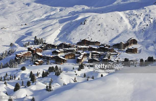 Ski resort of Belle PlagneAlps France