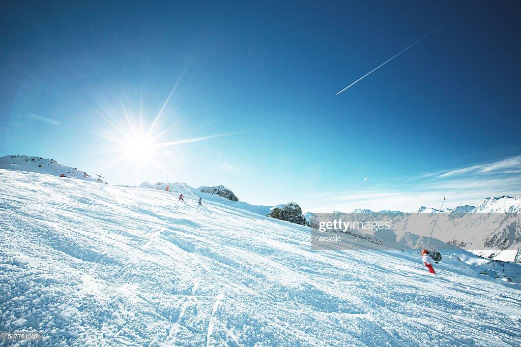 Ski resort : Stock Photo