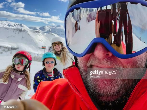 ski selfie - 50 54 jahre stock-fotos und bilder