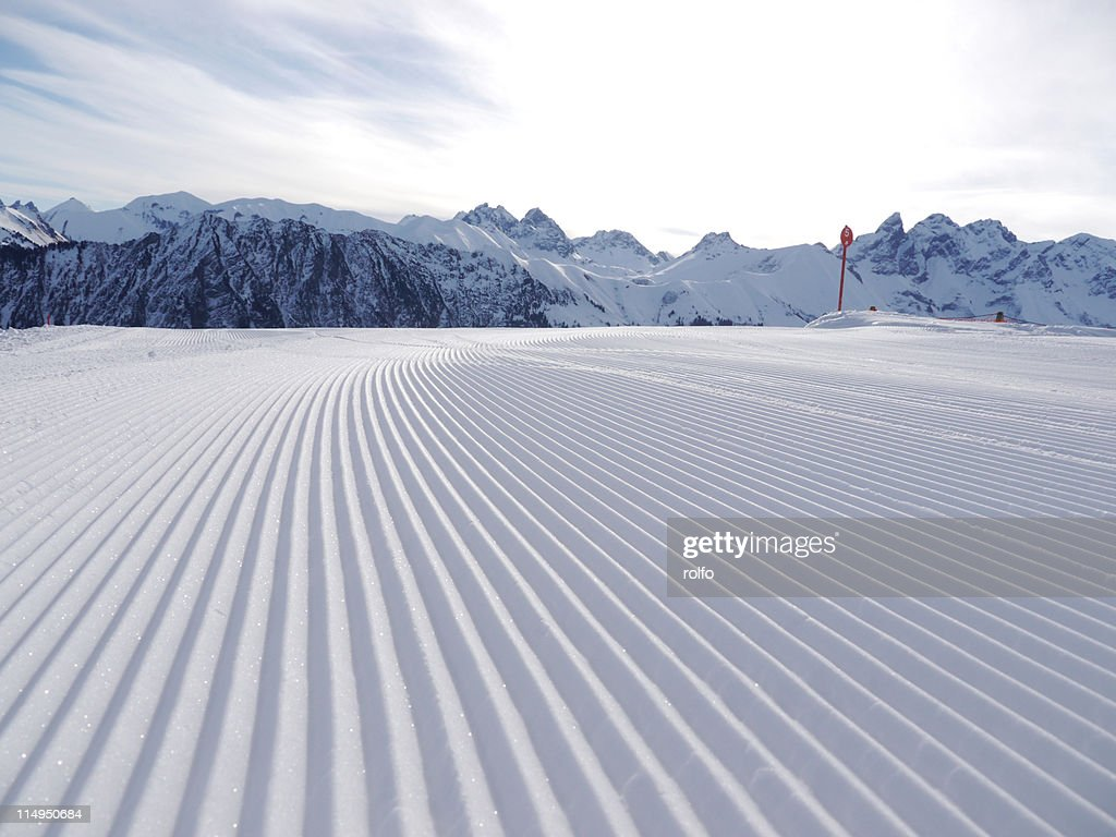 Ski slope : Stock Photo