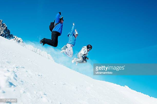 Ski - Snowboarder  team