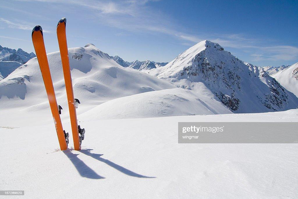 スキーツアー : ストックフォト