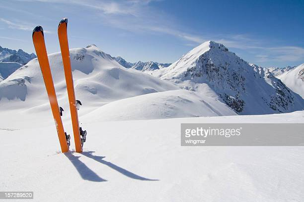 tour di sci - austria foto e immagini stock