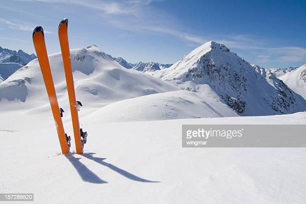 ski tour - hut stock pictures, royalty-free photos & images