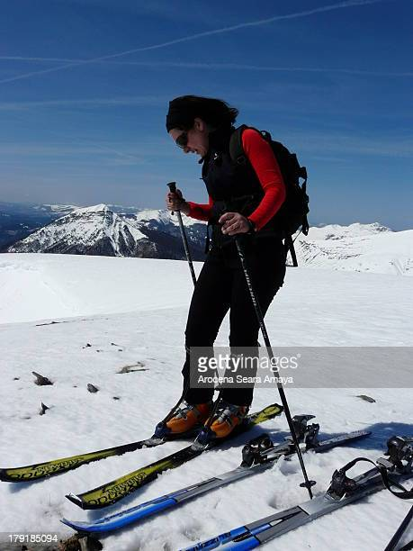 CONTENT] Ski touring in the peak Chinebral de Gamueta Ski touring is an activity where long distances are covered on skis Typically touring is done...