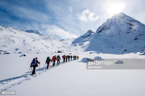 Ski touring (mountaineering) in Western Greenland