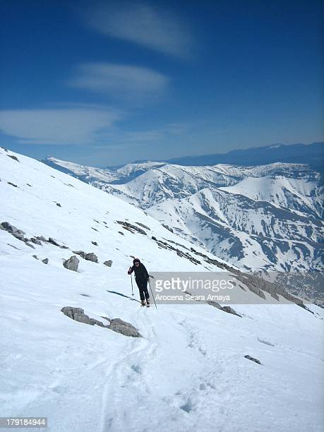 CONTENT] Ski touring is an activity where long distances are covered on skis Typically touring is done on trails which are not maintained and without...