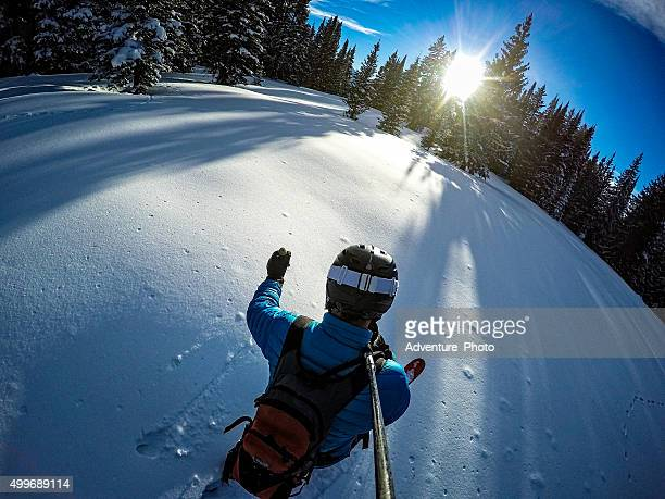 Ski Touring Vail Winter Backcountry