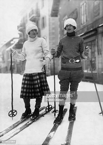 Ski Wear Models