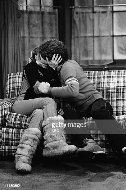 RENT STROKES Ski Weekend Episode 7 Pictured Dana Plato as Kimberly Drummond Jon Caliri as Tony Photo by Ron Tom/NBC/NBCU Photo Bank
