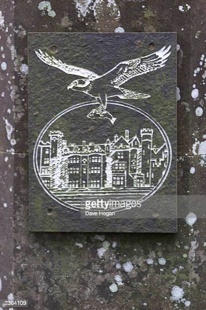 Skibo Castle emblem in Scotland Photo Dave Hogan/MP/Getty Images