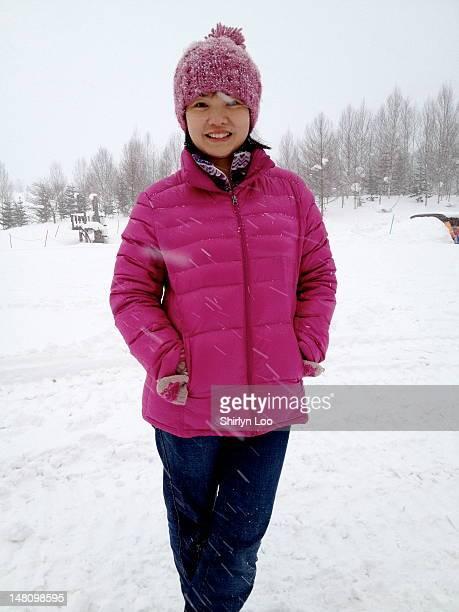 Skier at Niseko Ski Resort