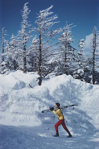 Skier In Vermont