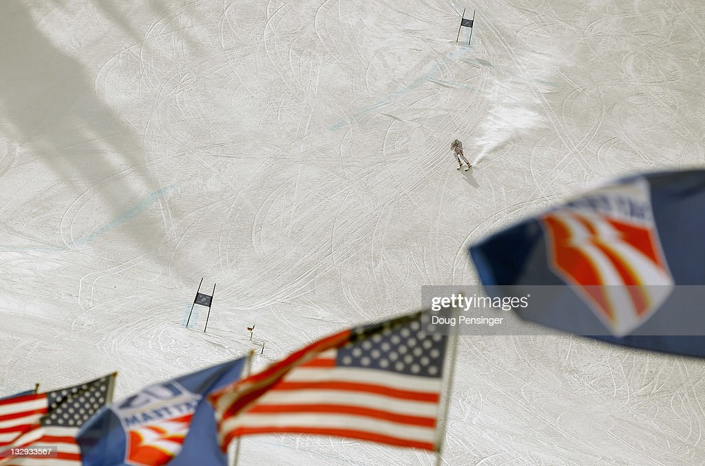 US Ski Team Speed Center Grand Opening : News Photo