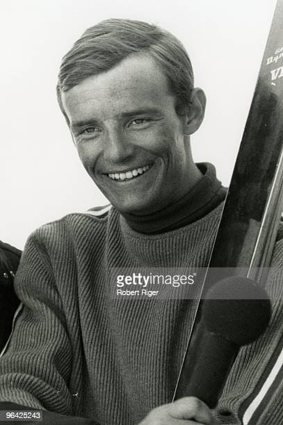 Skier JeanClaude Killy looks on in an undated photo circa 1960s
