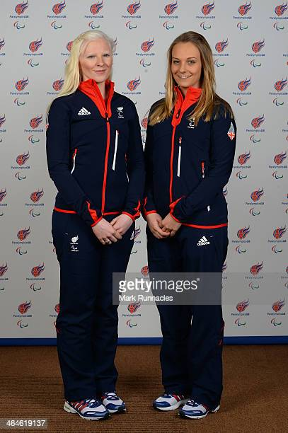 Skier Kelly Gallagher and Guide Charlotte Evans selected to represent ParalympicsGB for Sochi 2014 Paralympic Games at the Radisson Blue hotel on...