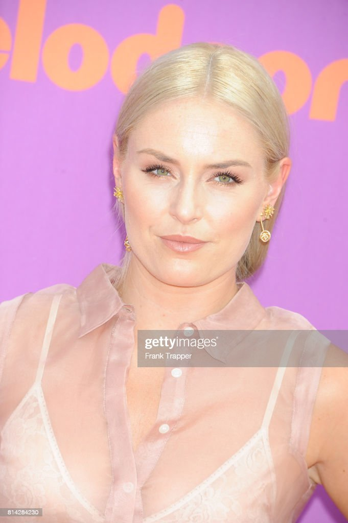 Skier Lindsay Vonn attends Nickelodeon Kids' Choice Sports Awards 2017 at Pauley Pavilion on July 13, 2017 in Los Angeles, California.