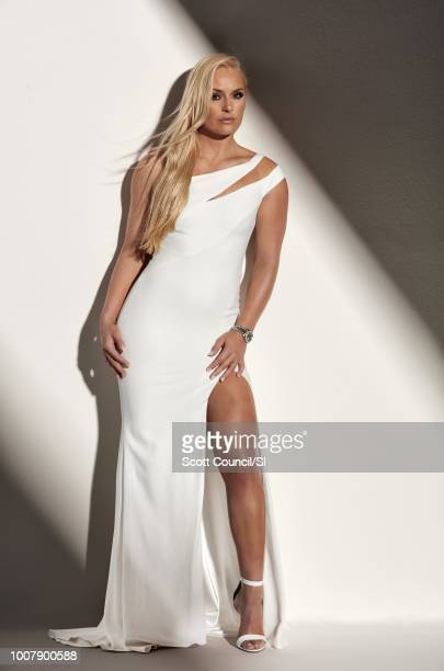 Skier Lindsey Vonn is photographed for Sports Illustrated on June 22 2018 in Culver City California PUBLISHED IMAGE CREDIT MUST READ Scott...