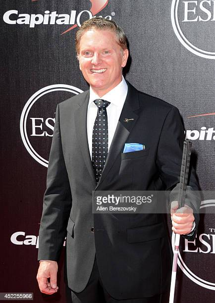 Skier Mark Bathum attends the 2014 ESPY Awards at Nokia Theatre L.A. Live on July 16, 2014 in Los Angeles, California.