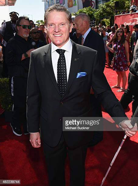 Skier Mark Bathum attends The 2014 ESPYS at Nokia Theatre L.A. Live on July 16, 2014 in Los Angeles, California.