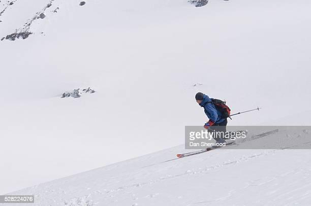 Skier On Mount Hood