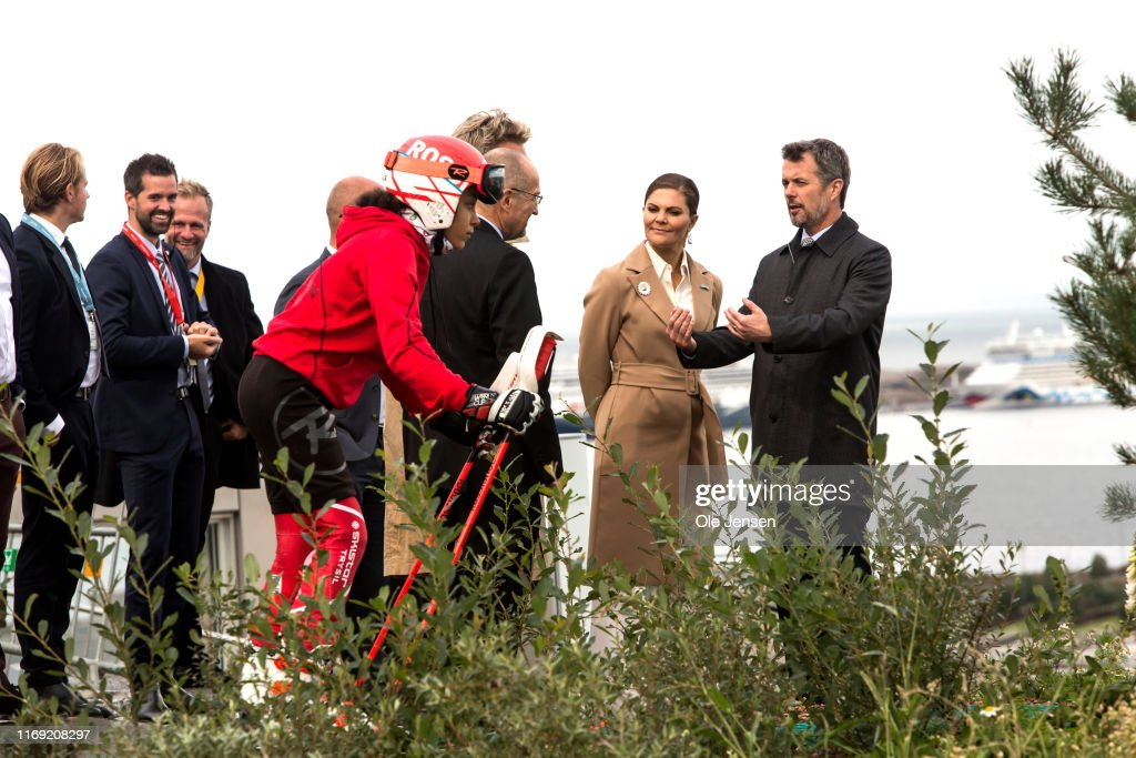 Crown Princess Victoria And Prince Daniel Of Sweden Visit Copenhagen - Day 3 : News Photo