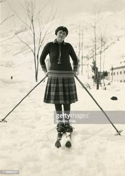skier - 1920 1929 stock-fotos und bilder