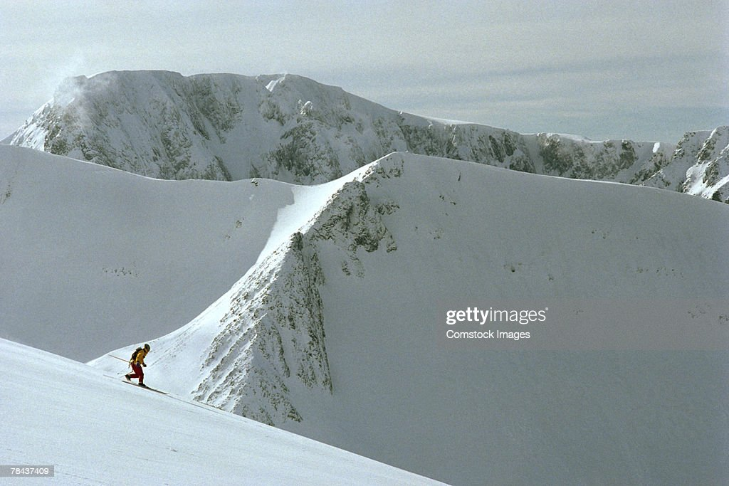 Skier : Stockfoto