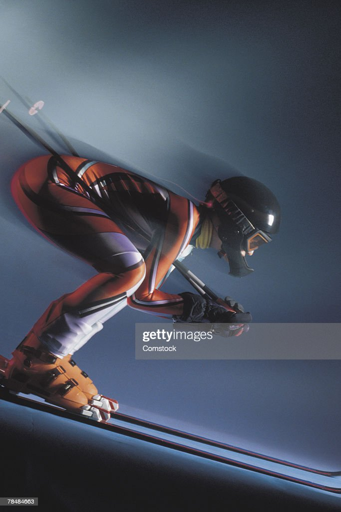 Skier : Stock Photo