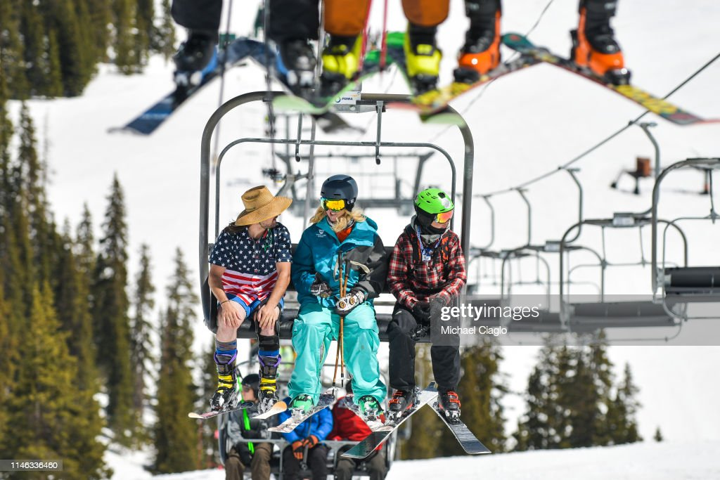 CO: Skiers And Snowboarders Enjoy Spring Conditions At Arapahoe Basin Over Memorial Day Weekend