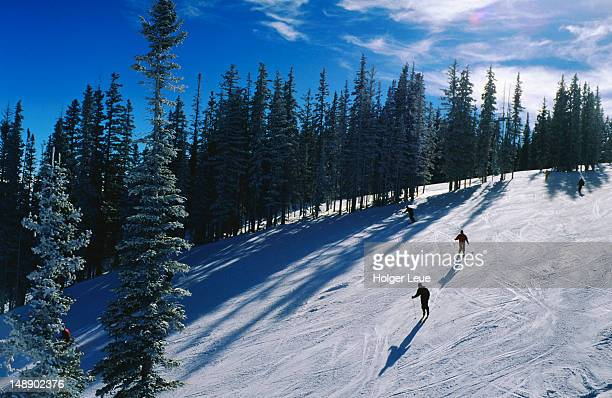 Skiers, Aspen Mountain.