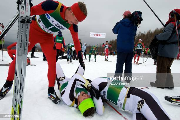 Skiers compete in the men's 20km Classical Cross Country race during the 2011 NCAA Photos via Getty Images Men and Women's Division I Skiing...