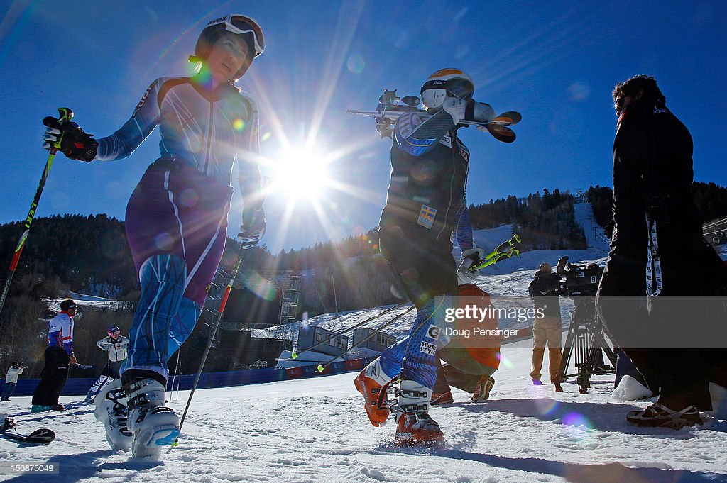 Nature Valley Aspen Winternational Audi FIS Ski World Cup Preview : News Photo