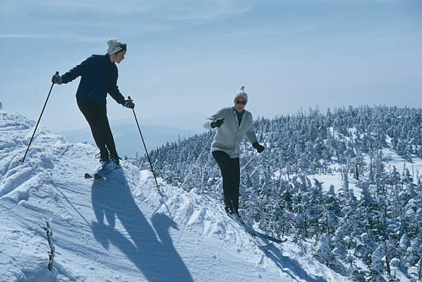 Skiers At Sugarbush Wall Art