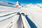Skier's Point of View