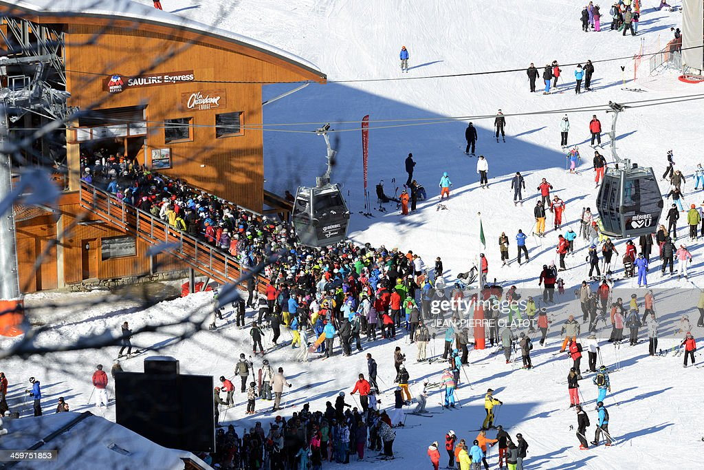 FRANCE-SKI-LEISURE-TOURISM : News Photo