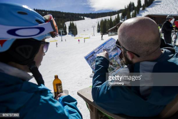 Inside A Vail Resort Inc Location As Volume Jumps Stock Photos and ...