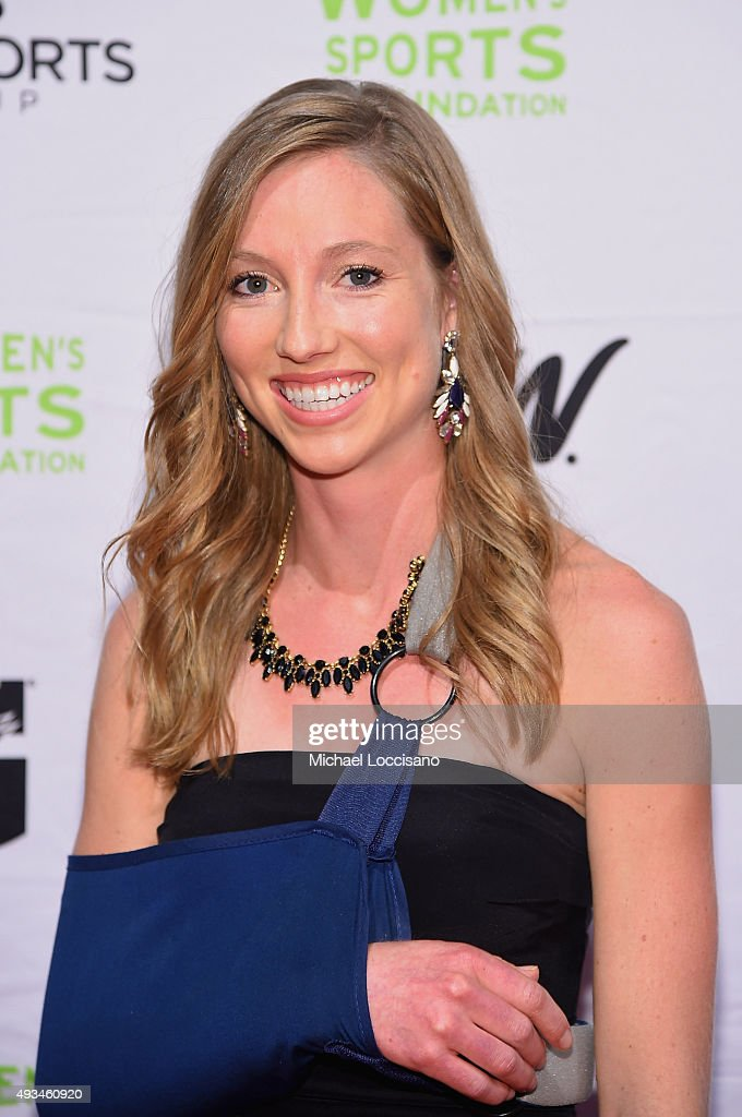 Skiier Erika Flowers attends the 36th Annual Salute to Women In Sports at Cipriani Wall Street on October 20, 2015 in New York City.