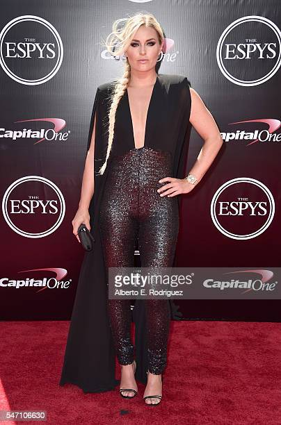 Skiier Lindsey Vonn attends the 2016 ESPYS at Microsoft Theater on July 13 2016 in Los Angeles California