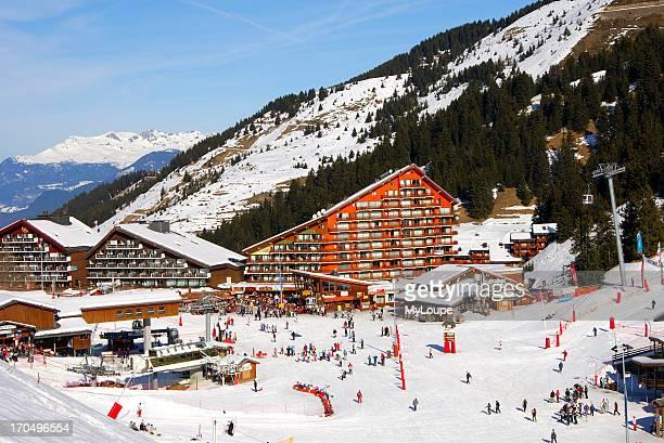 Skiing Area Trois Vallees HauteSavoie France