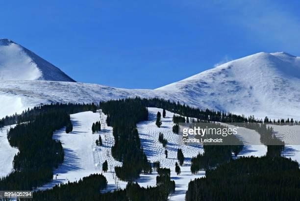 Skiing at Breckenridge, Colorado